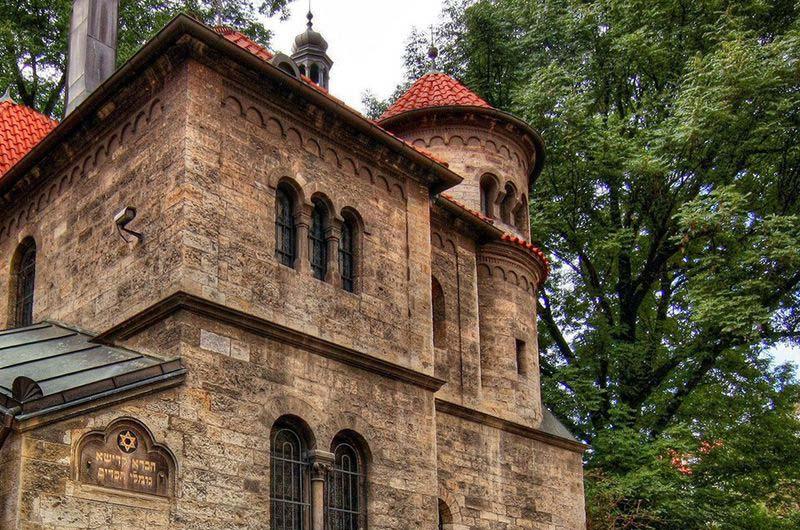 Еврейский квартал в Праге.