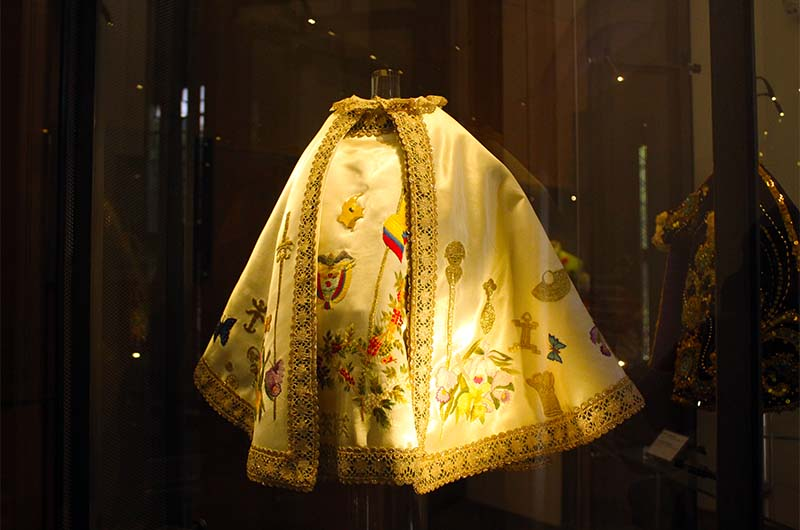 Одежда Езулатки из Колумбии.