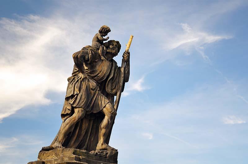 Святой Христофор.