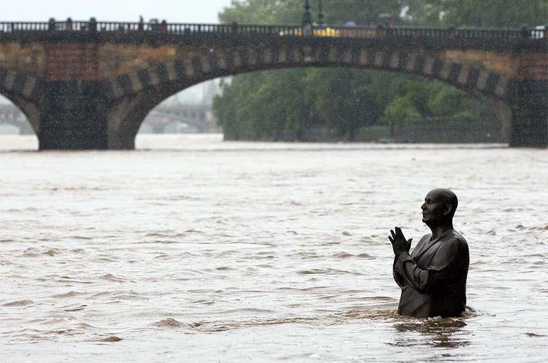 Наводнение в 2002 году.