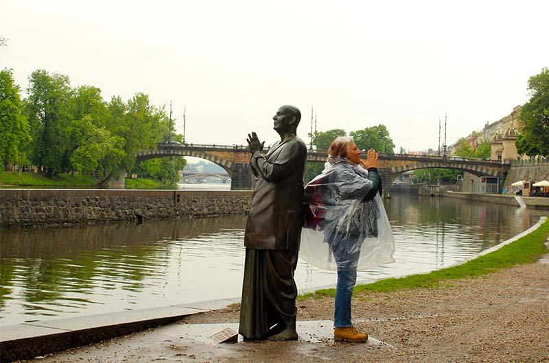 Скульптура Гармонии.