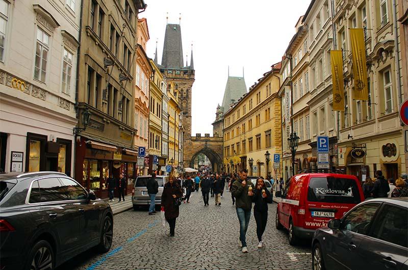 Туристическая улица Мостецкая.