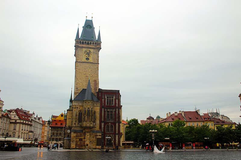 Башня Староместской ратуши.