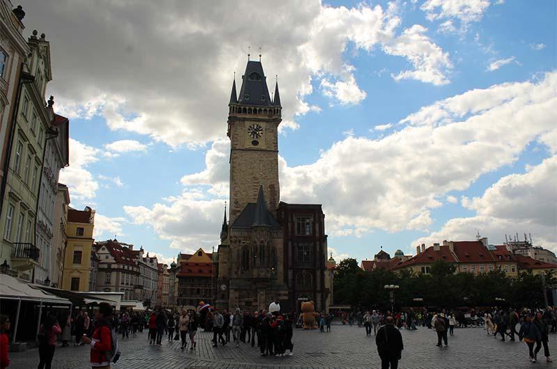 Ратуша со стороны Староместской площади.
