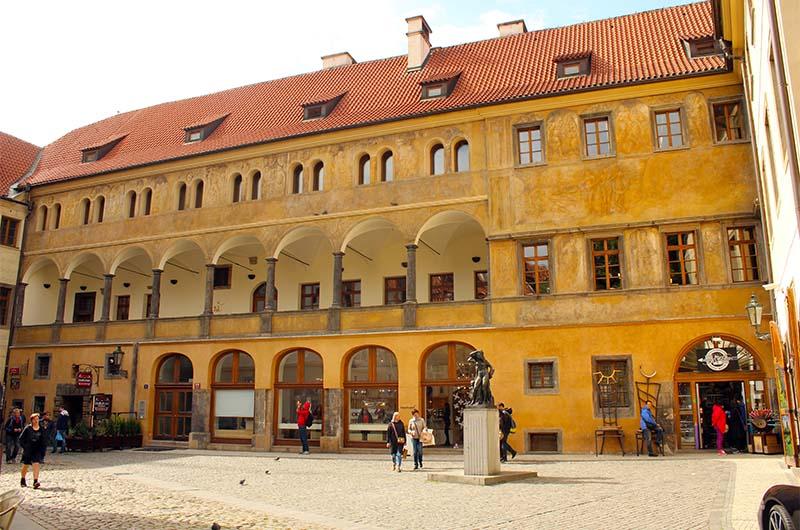 Дворец Грановских на Тынском дворе.