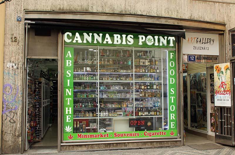 Вот так может выглядеть вход в пражский «магазин у дома».