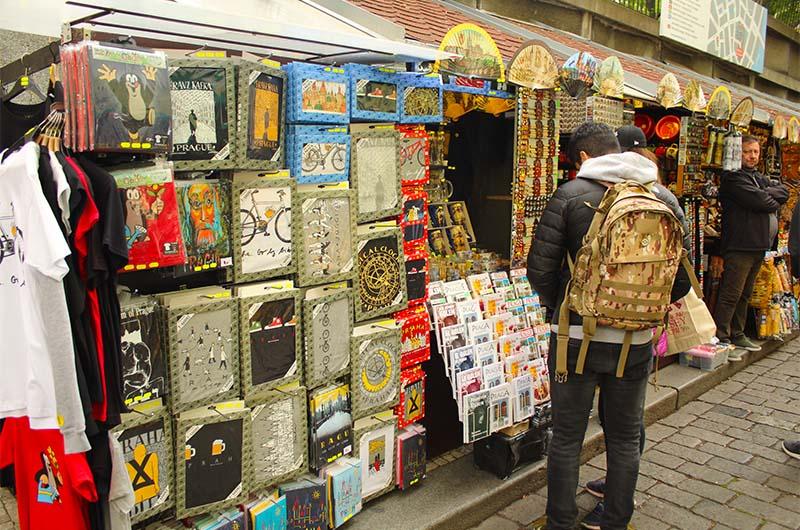 Сувениры в Еврейском квартале.